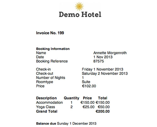 Customise Invoice Template Beds Wiki - Invoice jpg