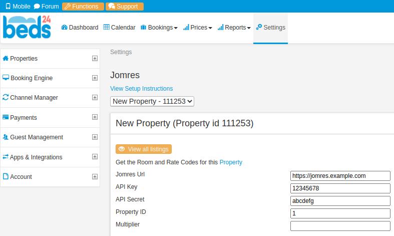 Jomres - Open Source Online Booking System for Joomla & WordPress - Uncategorised