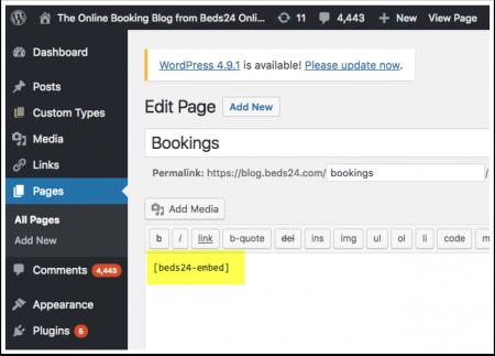 Category WordPress Beds24 Wiki